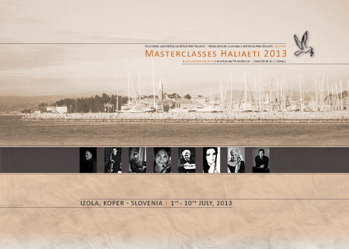 Masterclasses Haliaeti 2013