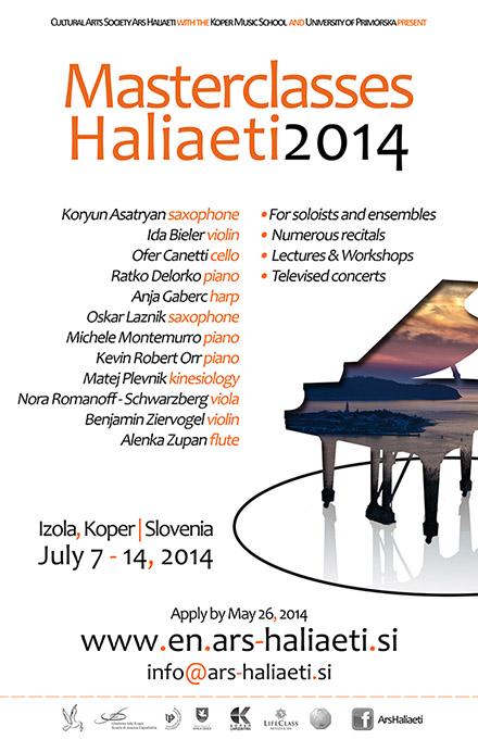Masterclasses Haliaeti 2014